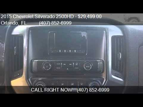 2015 Chevrolet Silverado 2500HD LT for sale in Orlando, FL 3