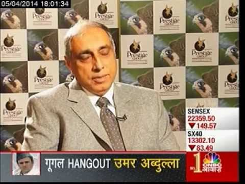 The CNBC Awaaz Interview of Prestige Group