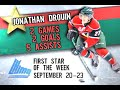 Jonathan Drouin Beauty Goal vs CB - Named QMJHL 1st Star of the Week
