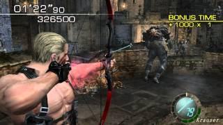 getlinkyoutube.com-Resident Evil 4 - Welcome To Hell Mode - Castle - Krauser (514.000) HQ