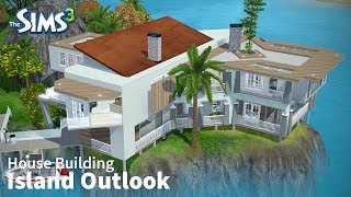 getlinkyoutube.com-The Sims 3 House Building - Island Outlook