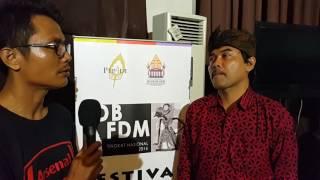 getlinkyoutube.com-Wawancara Irwan Riyadi di Festival #DalangBocah dan #DalangMuda 2016