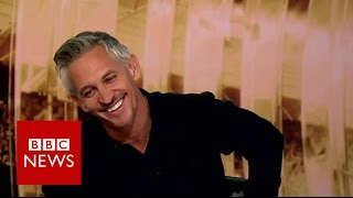 How Gary Lineker lived Leicester fairytale - BBC News width=
