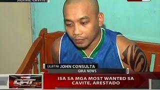 Isa sa mga most wanted sa Cavite, arestado