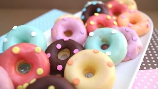 getlinkyoutube.com-Baked donuts 焼きドーナツ♪