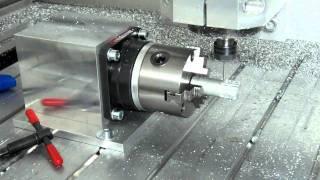 getlinkyoutube.com-w360° CNC (Harmonic Drive gearhead)