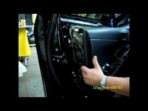 Как снять (разобрать) дверную обшивку Toyota Сamry 50?! Disassemble the door skin Camry 50?!
