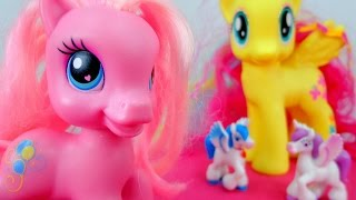 getlinkyoutube.com-Мой маленький пони. Дружба - это чудо мультик с игрушками. Поиски волшебного подарка.