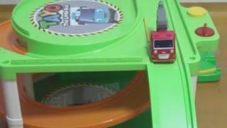 getlinkyoutube.com-타요 주차장 장난감 Tayo The Little Bus Toys Parking garage