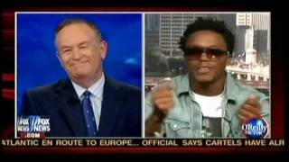 getlinkyoutube.com-Bill O'Reilly Owned by Rapper Lupe Fiasco 6-22-2011