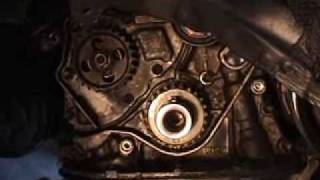 getlinkyoutube.com-HOW TO TOYOTA ENGINE TIMING BELT & WATER PUMP INSTALLATION ON DVD