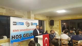 Nevşehir Milletvekili Açıkgöz, Bims Sanayicileri Derneği İftar Proğramına Katıldı