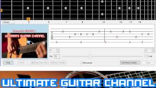 getlinkyoutube.com-[Guitar Solo Tab] Scientist (Coldplay)