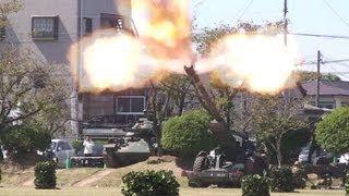 getlinkyoutube.com-2013/09/28 小郡駐屯地 模擬戦闘訓練展示