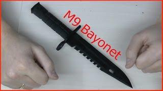 getlinkyoutube.com-Как сделать штык нож M9 Bayonet CS GO с помощью 3d принтера