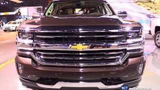 getlinkyoutube.com-2016 Chevrolet Silverado High Country - Exterior and Interior Walkaround - 2015 LA Auto Show