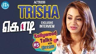 getlinkyoutube.com-Trisha Krishnan Exclusive Interview || #kodi || Zoomin With Vrinda #5
