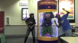 "getlinkyoutube.com-Chuck E. Cheese ""Party Rock"" Music Video"