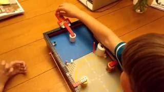 getlinkyoutube.com-Small Lego pinball machine
