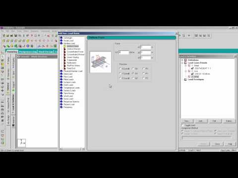 STAAD.Pro V8i Fundamentals Part 3: Model Loading and Analysis