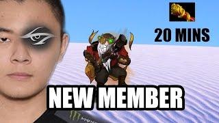 getlinkyoutube.com-Team SECRET New Member MIDONE Plays Sniper Dota 2 Pro Highlights