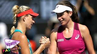 getlinkyoutube.com-Australian Open 2016: Kerber Ends Konta Dream run to set final vs Serena || Pastimers