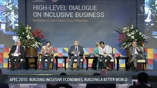 getlinkyoutube.com-APEC 2015: High-level dialogue on inclusive business