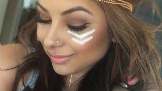 GRWM: Festival Makeup