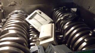 getlinkyoutube.com-Largest E-Waste Shredder At Electronic Recyclers