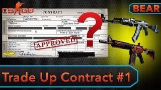 getlinkyoutube.com-CS:GO - Trade Up Contract #1 - AK Vulcan or M4 Howl?!