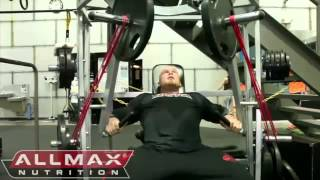 getlinkyoutube.com-Ben Pakulski Trains Chest 3 Weeks After the Arnold Classic