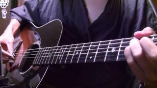 "getlinkyoutube.com-東京喰種 Tokyo Ghoul OP ""unravel"" on guitar by Osamuraisan 【TK from Ling Tosite Sigure】"