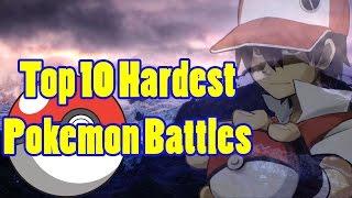 getlinkyoutube.com-Top 10 Hardest Pokemon Battles