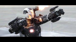 War Machine - Fight Moves & Flight Compilation HD