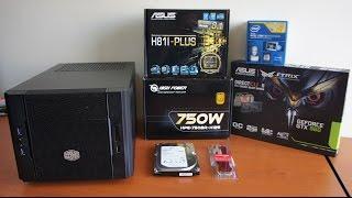 getlinkyoutube.com-Mini-ITX HTPC Küp Pc Toplama, mITX cube pc build