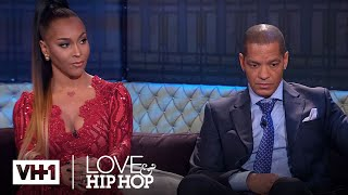 Amina Buddafly Is Pregnant With Peter Gunz's Child | Love & Hip Hop width=