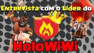 getlinkyoutube.com-Entrevista com o Líder do HoloWiWi ! Clã invicto com 70 Guerras !