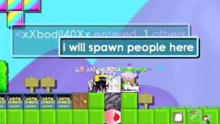 getlinkyoutube.com-If A Noob Became A Mod in Growtopia!