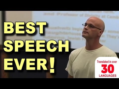 Best Speech You Will Ever Hear - Gary Yourofsky