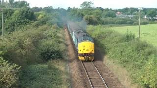 getlinkyoutube.com-Wherry Lines Loco Haulage - 19th and 20th September 2016