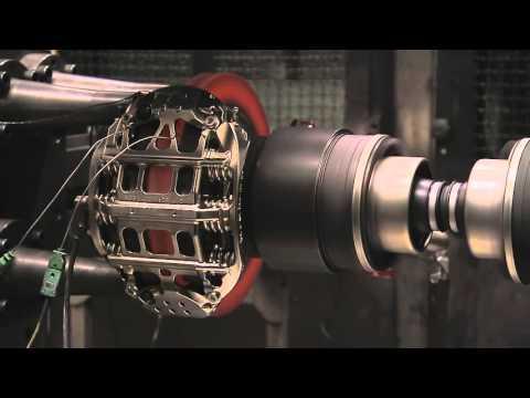 Тестирование карбон керамического тормозного диска 720