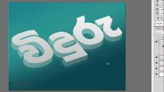 getlinkyoutube.com-Create 3D Glass Text Effect using Photoshop & Illustrator [Sinhala Tutorial]
