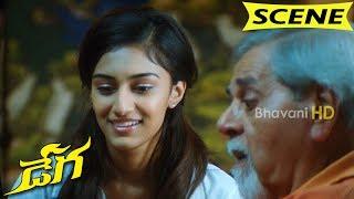 Shankar Melkoti Flirting Erica Fernandes - Blackmail Comedy Scene || Dega Movie Scenes