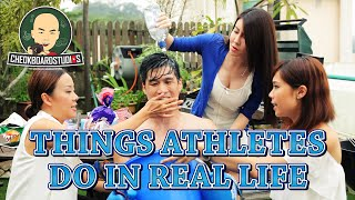 getlinkyoutube.com-Things Athletes Do In Real Life