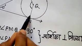 SSC Geometry in Marathi (Circle Example) -2