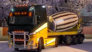 getlinkyoutube.com-Euro Truck Simulator 2 Multiplayer - Mods