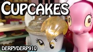 getlinkyoutube.com-Pinkie's Cupcakes -- My Little Pony Funko Derpy and DJ PON-3 Review