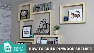 getlinkyoutube.com-Building DIY Plywood Shelves with an Exposed Edge