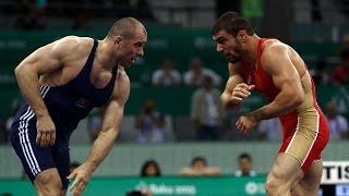 getlinkyoutube.com-Baku 2015 1st European Games Freestyle Wrestling