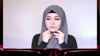 لفة الحجاب التركي للمبتدئين